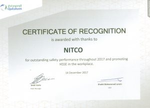 CERTIFICATE OF RECOGNITION - QP